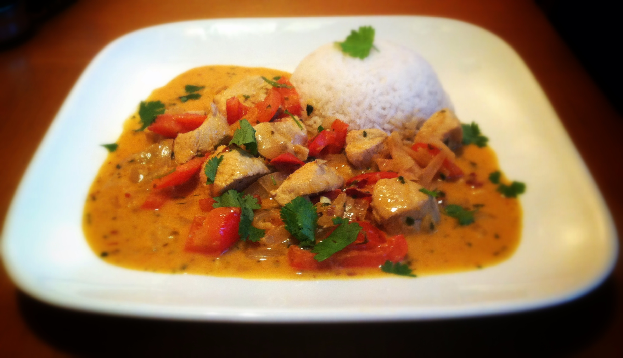 Thai red chicken curry noble nourishment noble nourishment for Best thai red curry