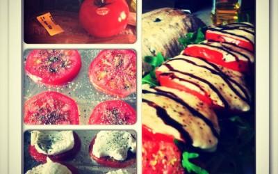 Tomato & Mozzarella Sandwich